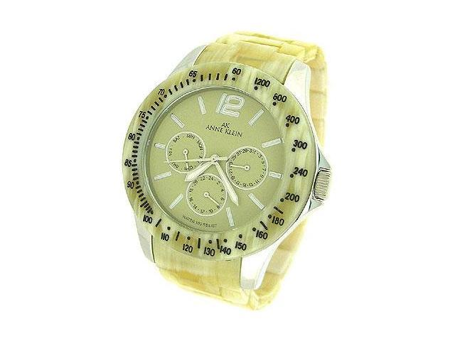 AK Anne Klein Multifunction Horn Plastic Ivory Dial Women's watch #10/9711IVHN