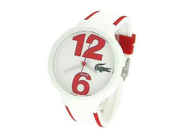 Lacoste Sportswear Collection Goa White Dial Unisex watch #2010544