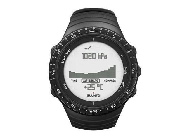 Suunto SS014809000 Core Regular Black Altimeter Wrist Top Computer Sports Watch