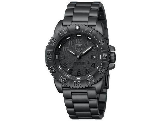 Luminox Navy Seal Colormark Blackout Steel Mens Watch 3152.BO
