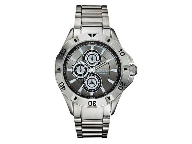 Nautica NST 06 Multifunction Charcoal Dial Men's watch #N17545G