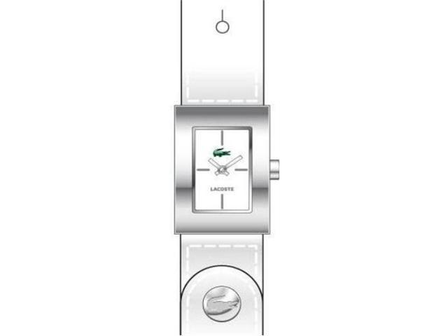 Lacoste Club Collection Socoa White Dial Women's watch #2000655