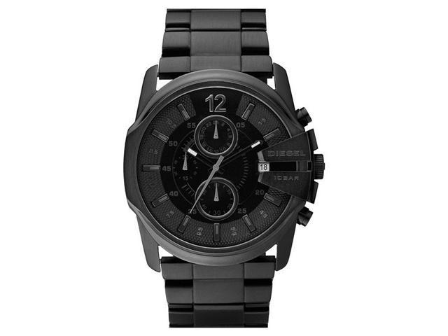 Diesel DZ4180 Men's Black Dial Stainless Steel Chronograph Watch