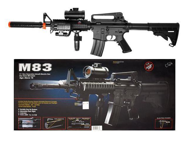 Double Eagle M4 M16 Airsoft Electric Assault Rifle M4A1 AEG Semi/Full Auto M83A2