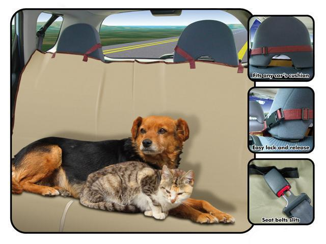 FinePet Folding Waterproof Pet Seat Cover for Car Truck SUV RV Motorhome