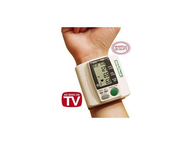 Wristech Blood Pressure Monitor/Heart Rate + Bonus Case