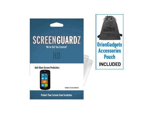 Samsung Focus ScreenGuardz HD (Hard) Anti-Glare Screen Protectors (Pack of 2)