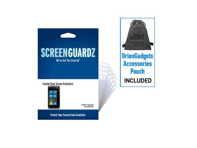 HTC Surround ScreenGuardz Ultra-Slim Screen Protectors (Pack of 5)
