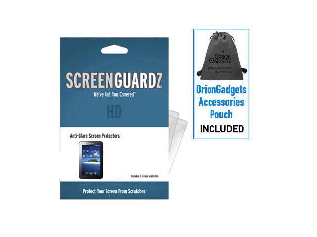 Samsung Galaxy Tab ScreenGuardz HD (Hard) Anti-Glare Screen Protectors (Pack of 1)