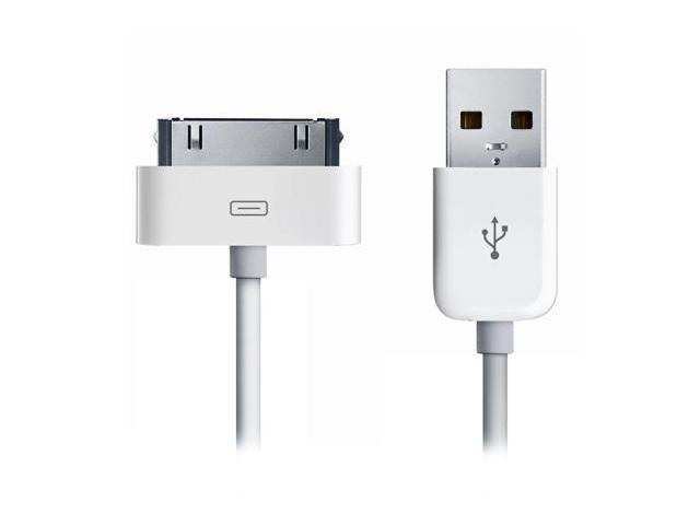 Apple iPad 2 OEM Sync & Charge USB Cable (White)