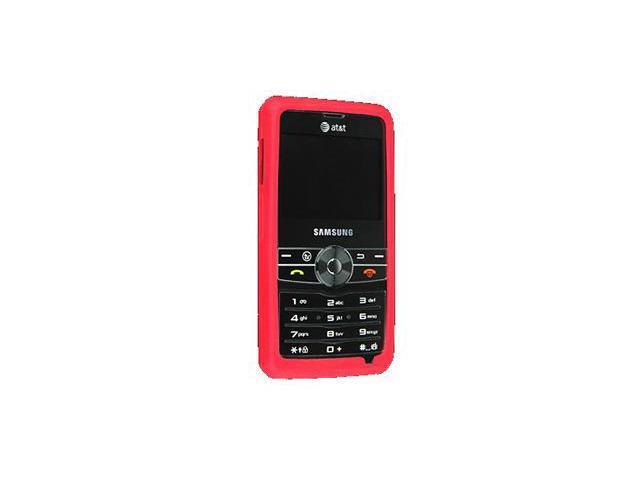 Samsung Access Silicone Skin Case (Red)