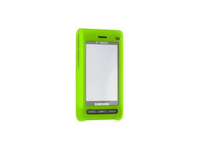 Samsung Memoir T929 Silicone Skin Case (Green)