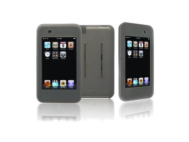 Apple iPod Touch Silicone Skin Case (Gray)