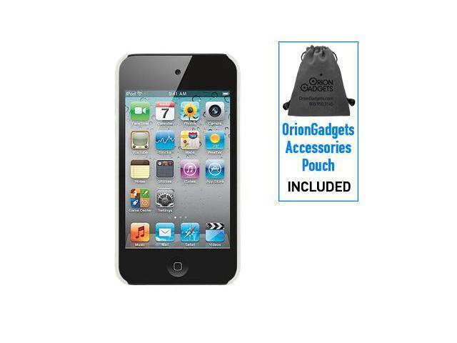Apple iPod Touch 4G Rubberized Proguard Mesh Case (Clear)