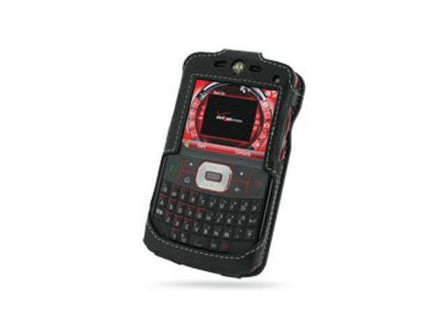 Motorola Q9c Leather Sleve Case (Black)