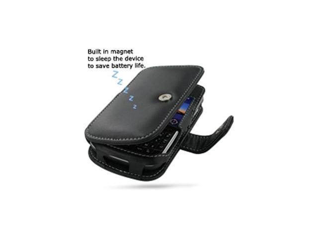 BlackBerry Bold 9650 Leather Book Case (Black)