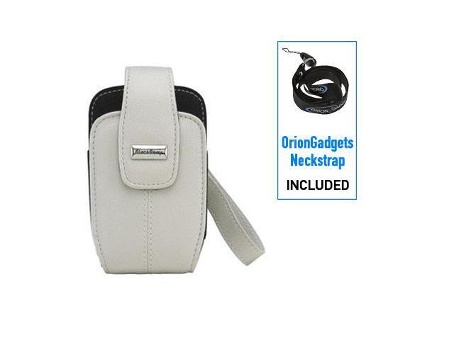 BlackBerry Curve 8330 Lambskin Leather Tote Case (White)