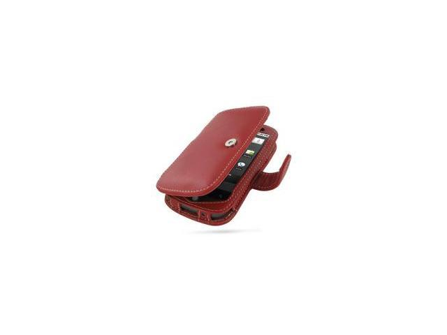 Google Nexus One Leather Book Type Case (Red)