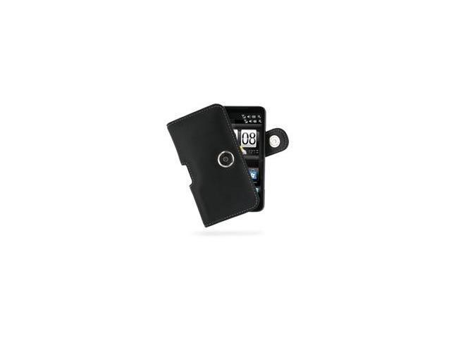 T-Mobile HTC HD2 Horizontal Pouch Type Case (Black)