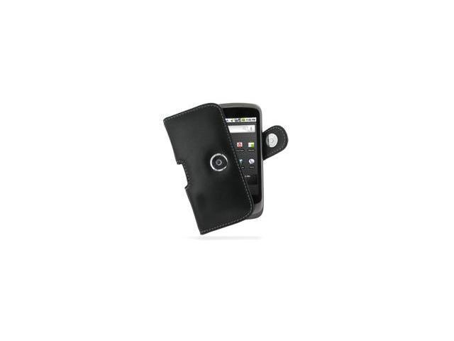 Google Nexus One Horizontal Pouch Type Case (Black)