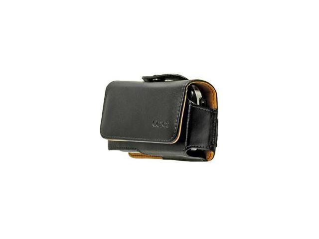 Palm Centro Noble Horizontal Case w/ Removable Spring Clip & Belt Loop (Black)
