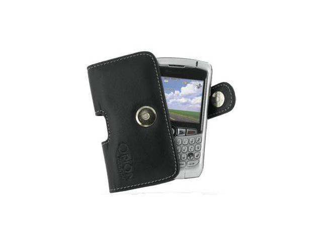 BlackBerry Curve 8300 Horizontal Pouch Type Case (Black)