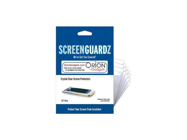 LG Bliss UX700 ScreenGuardz Ultra-Slim Screen Protectors (Pack of 15)