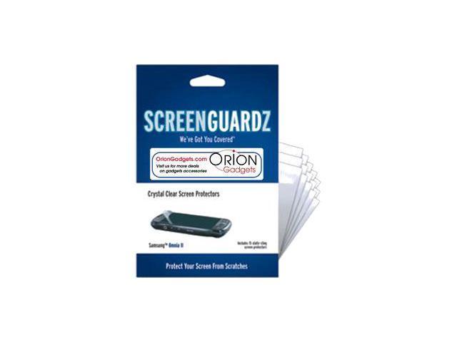 Samsung i920 Omnia II ScreenGuardz Ultra-Slim Screen Protectors (Pack of 15)