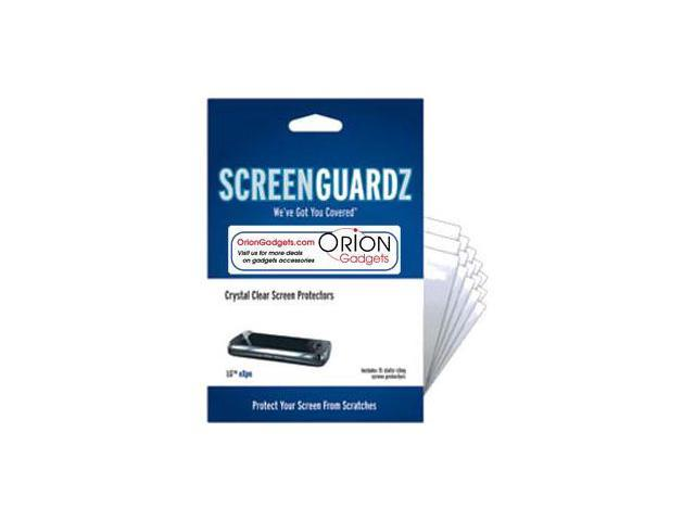 LG GW820 eXpo ScreenGuardz Ultra-Slim Screen Protectors (Pack of 15)