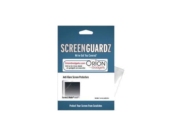 Barnes & Noble Nook ScreenGuardz HD (Hard) Anti-Glare Screen Protectors (Pack of 1)