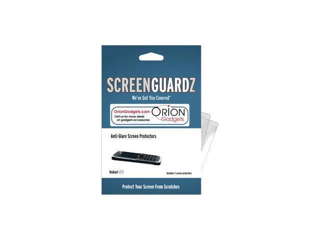 Nokia E71 ScreenGuardz HD (Hard) Anti-Glare Screen Protectors (Pack of 2)
