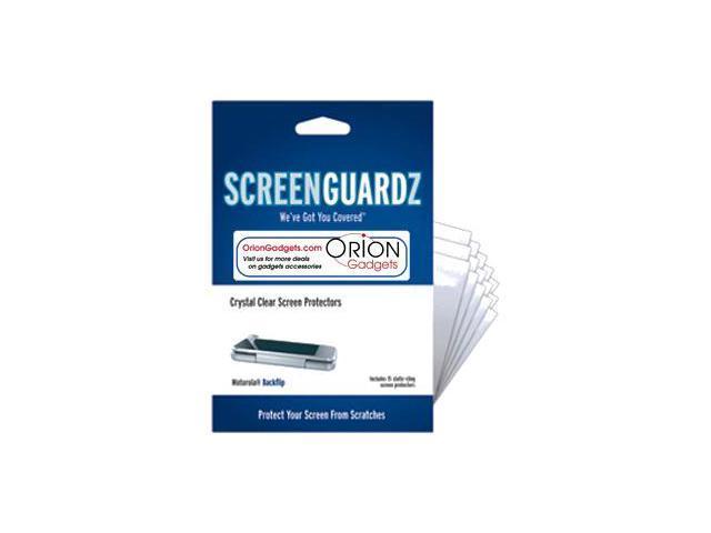 Motorola Backflip ScreenGuardz Ultra-Slim Screen Protectors (Pack of 15)