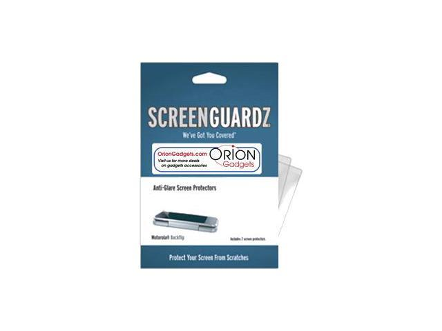 Motorola Backflip ScreenGuardz Ultra-Slim Screen Protectors (Pack of 3)