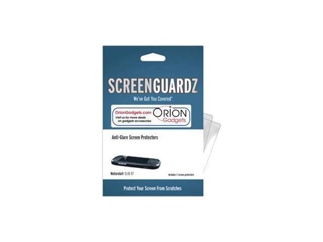 Motorola Cliq XT ScreenGuardz HD (Hard) Anti-Glare Screen Protectors (Pack of 2)