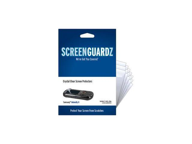 Samsung Intensity II ScreenGuardz Ultra-Slim Screen Protectors (Pack of 5)