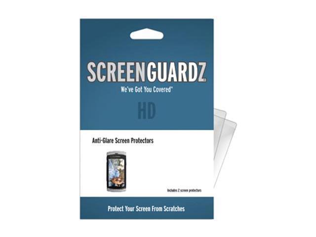 Sony Ericsson Vivaz ScreenGuardz HD (Hard) Anti-Glare Screen Protectors (Pack of 2)