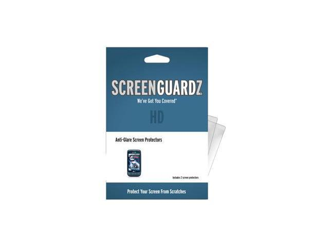 LG Optimus S ScreenGuardz HD (Hard) Anti-Glare Screen Protectors (Pack of 2)