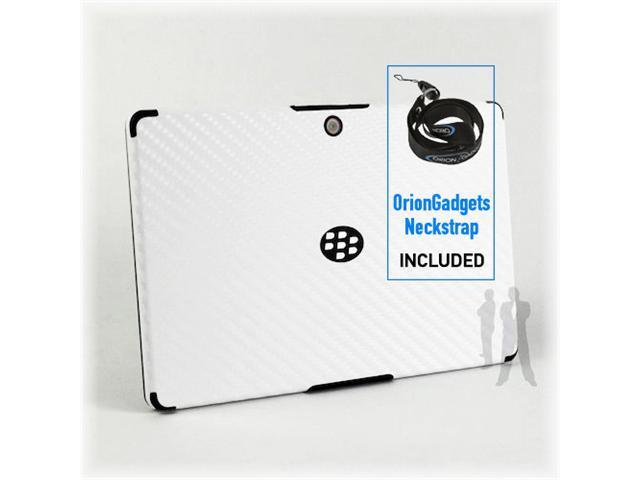 Blackberry Playbook BodyGuardz Armor Carbon Fiber (White)