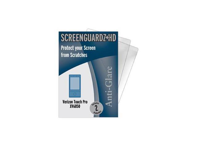 Verizon HTC Touch Pro ScreenGuardz HD (Hard) Anti-Glare Screen Protectors (Pack of 2)