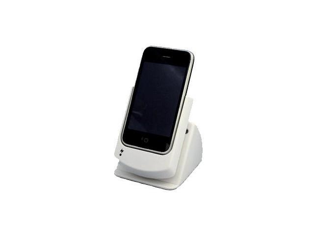 Apple iPhone 3GS USB Sync & Charge Rotation Cradle (w/ AC Charger) (White)