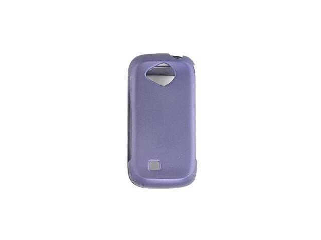 Samsung U820 Reality Rubberized Protective Shell Case (Purple)