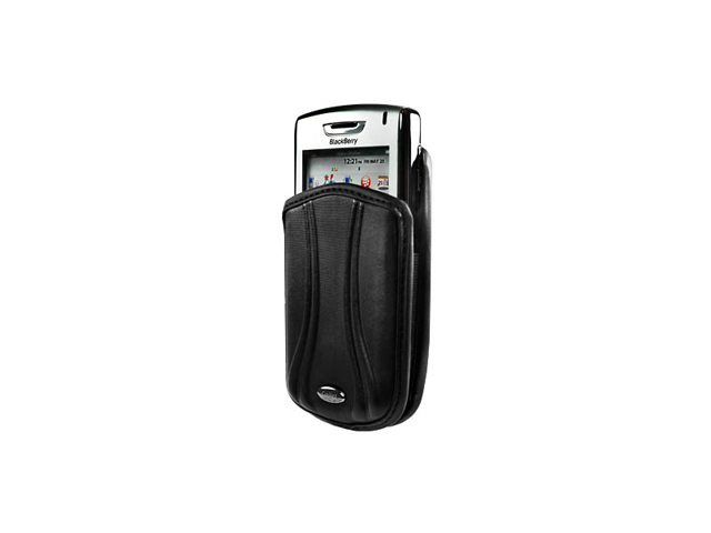 BlackBerry Tour 9630 Pantum Vertical Pouch Case (Black)