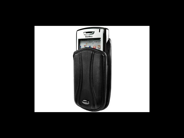 BlackBerry Tour 9630 Pantum Vertical Pouch Case (Black)