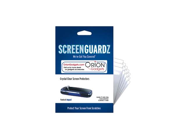 Pantech Impact ScreenGuardz Ultra-Slim Screen Protectors (Pack of 15)