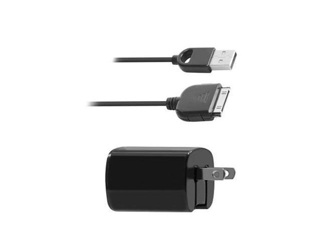 Apple iPhone 4 Travel Dual MicroUSB Charger Kit w/ Folding Blade