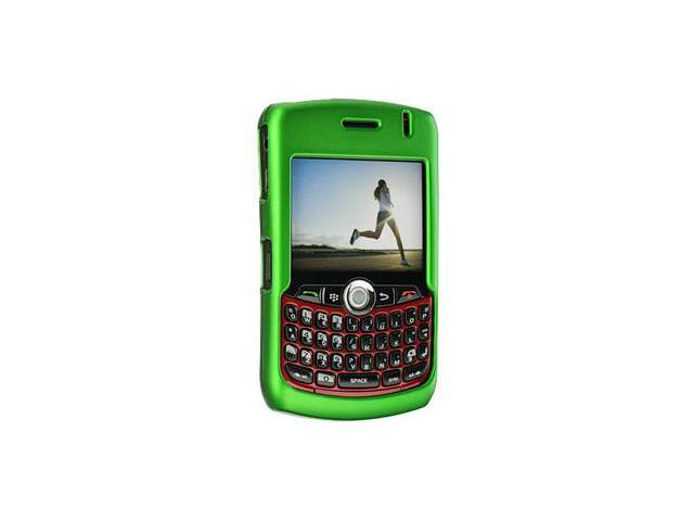 BlackBerry Curve 8310 Rubberized Proguard Case (Green)