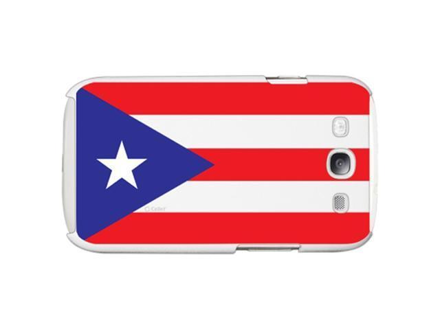 Samsung Galaxy S III Plastic Rear Case (Puerto Rican Flag Print)