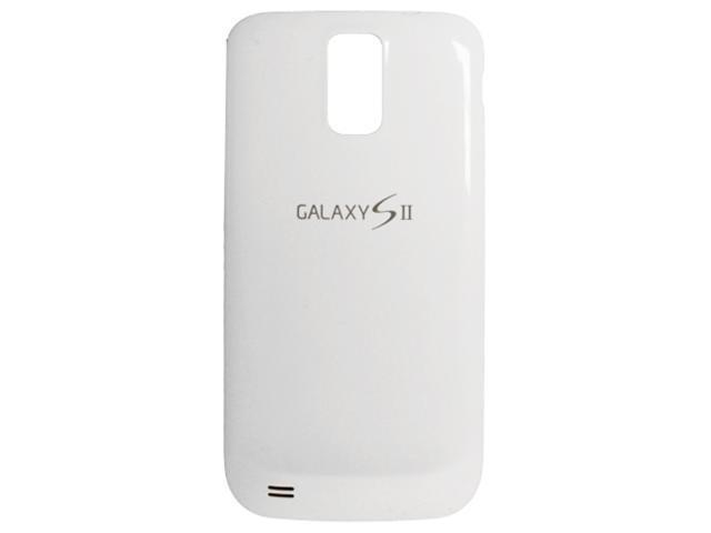 Samsung Galaxy S II T989 T-Mobile OEM Replacement Battery Cover Door (White)