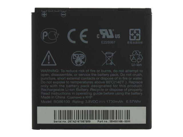 Sensation XE Original OEM Replacement Standard 1730mAh Battery 35H00157-06M