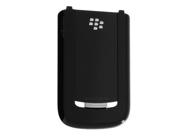 Blackberry Tour 9630 OEM Back Battery Cover Door (Black)